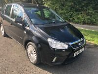 C-MAX 1.6 TDCI TITANIUM 59 REG IN BLACK WITH BLACK TRIM WITH SERVICE HISTORY AND MOT MARCH 2019