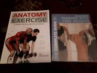 Exercise and weights books