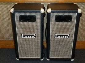 Park by Marshall 1 x 12 speaker cabinets with horn late 70s