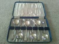 Silver Plated Soup Spoons