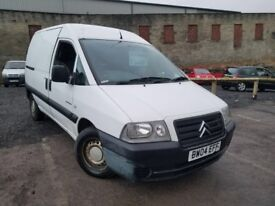 2004 Citroen Dispatch Van 1.9 Diesel, 1 Owner