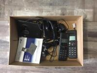 BT twin set phones with user guide