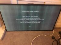 Luxor 42 inc smart tv faulty open to offers