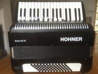 Hohner 'Bravo III' - 72 bass accordion
