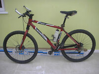 Cannondale F500 Mountain Bike MTB Disc Brake & Quick release wheels and seat