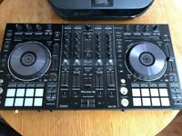 Pioneer DDJ RX Controller with Rekordbox DJ Pro Software License w/ decksaver & udg carry case