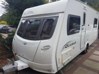 2009 LUNAR QUASAR 534 4 BERTH FIXED BED CARAVAN