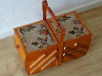 great looking metamorphic sewing box
