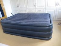 Intex Raised Queen Air Bed with built in electric pump