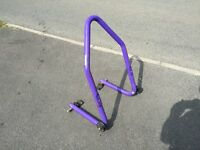 Micron sports motorbike motorcycle stand bargain £20