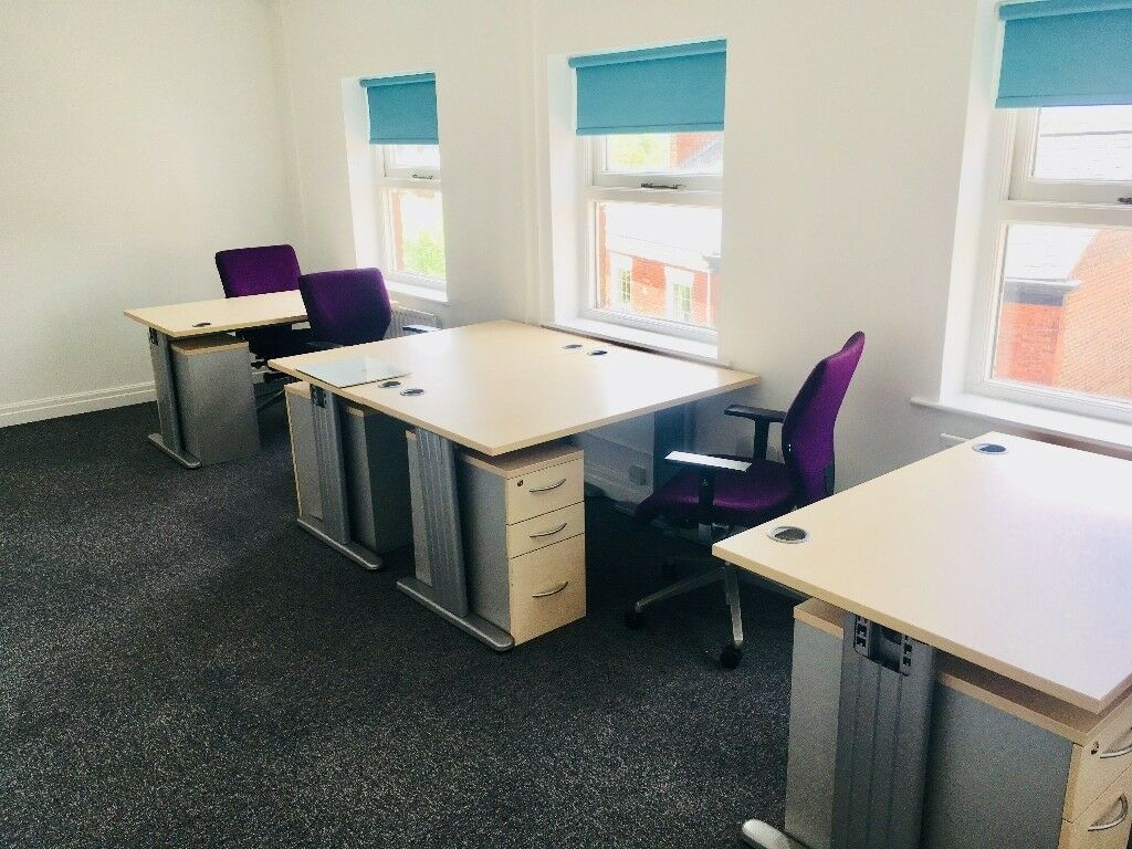Furnished Office To Let Preston City Centre Hot Desking Meeting Rooms