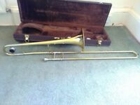 Sonata Brass Trombone - with hard case and some maintenance products
