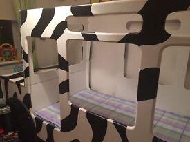 Bespoke children's safari bed for sale