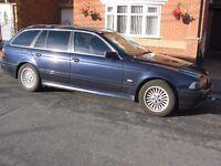 BMW 525i Estate Automatic.