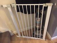 Tall stair gate