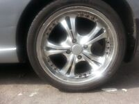 ford 17 inch alloys 4 studs
