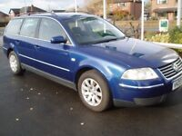 VW PASSAT 2003 TDI SE ESTATE 130 BHP