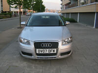 2007 audi a3 1.9 tdi diesel manual, special edition 5 door, 12 mot, 1 owner, 82k, hpi clear 100%
