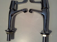 BRISTAN SINK AND BATH TAPS- NEW - LEVER NECK CHEEP PRICE £32 ovno