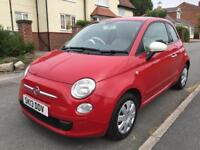 Fiat 500, 2013 low miles only 44000 and 12 months MOT