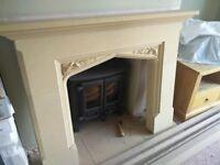 Beautiful Bath stone fireplace