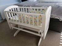 Mothercare gliding crib