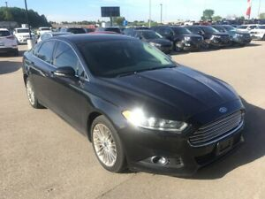 2014 Ford Fusion SE, Navigation, Leather Seats