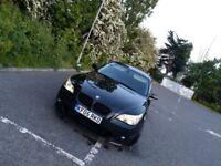 Bmw e60 530d black msport