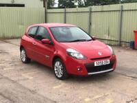 Renault Clio 1.5 dci 2010 one owner long mot full service history