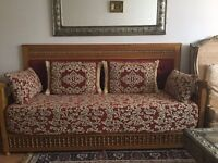 2 authentic Moroccan sofa bed