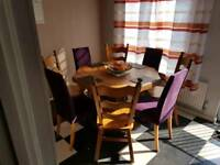 Table and chairs for sale. Serious offers please. RRP £1750. Collection Peterborough PE2 5ST