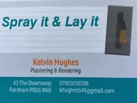 Spray it & Lay it, plastering and rendering services