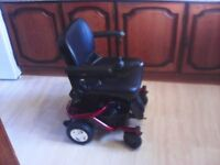 Travelux Quest electric wheelchair with new battery all in excellent condition.