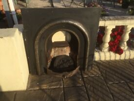 Open Wood/coal hearth. Good quality with all fittings.