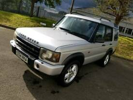 2004 land rover discovery td5 landmark leather 7 seats 4x4 Tow bar manual fsh