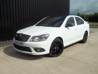 2010 Skoda Octavia 2.0 TDI CR vRS 5dr 3 Months Warranty, Diesel, Full Leather, May PX