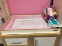 Mamas and Papas Omni Furniture Set .Excellent Condition Cot bed,wardrobe and changing unit