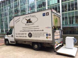 Removals Service Man & Van Transport Service London - UK . WALTHAMSTOW- LEYTON- STRATFORD
