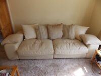 4 Seater plus 2 Seater Sofa