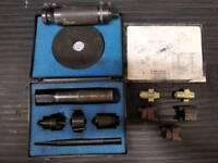Dynomec locking wheel nut remover kit + extra blades £100 O.N.O