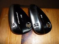 Cleveland Back Pearl CG15 Tour Zip Wedge Set 52* & 56*