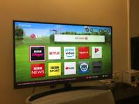 LG 42 inch Full HD LED smart TV with wifi, Freeview HD, Freesat HD, 3 HDMI, 3 USB, etc