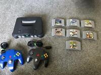 Nintendo 64 Mariokart bundle, retro n64 Mario kart
