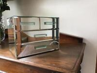 MIRRORED, Bevelled Edge, Jewellery Box