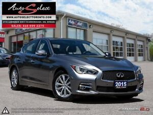 2015 Infiniti Q50 AWD ONLY 49K! **TECHNOLOGY PKG** CLEAN CARP...