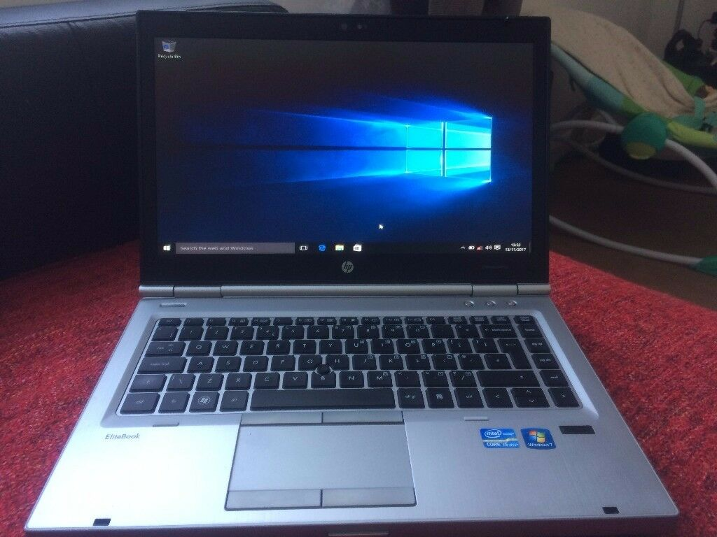 HP ELITBOOK 8470P INTEL CORE i5 SPU SPPEED 2.60 GHz.