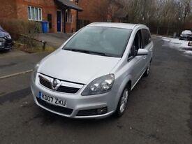 Vauxhall Zafira 1.8 Design, 7 Seater full spec, low miles, full MOT New Clutch & Gearbox A++