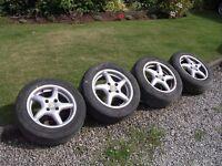 VW Golf / Polo / Caddy alloy wheels. Set of four.