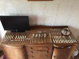 EPNS cutlery & serving ware job lot