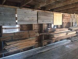 150+ Year Old Reclaimed Barnwood - Vintage - Antique - Shiplap - 1000's of SQFT - Feature Wall